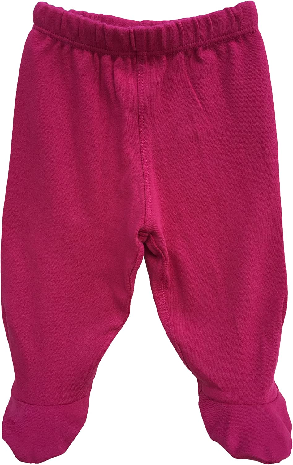 Many Colors Organic Cotton Baby Footed Pants