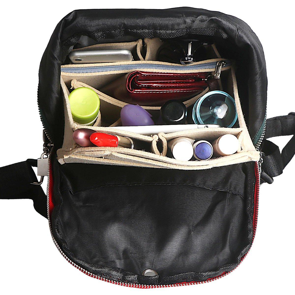 xhorizon SR Purse Organizer Insert Purse Handbag Tote Bag,Bag in Bag Organizer by xhorizon (Image #6)