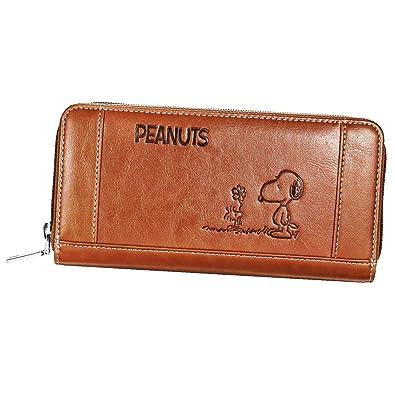 7b6be3694e9a Amazon | スヌーピー 財布 レディース 長財布 カード29枚収納 (マロン ...