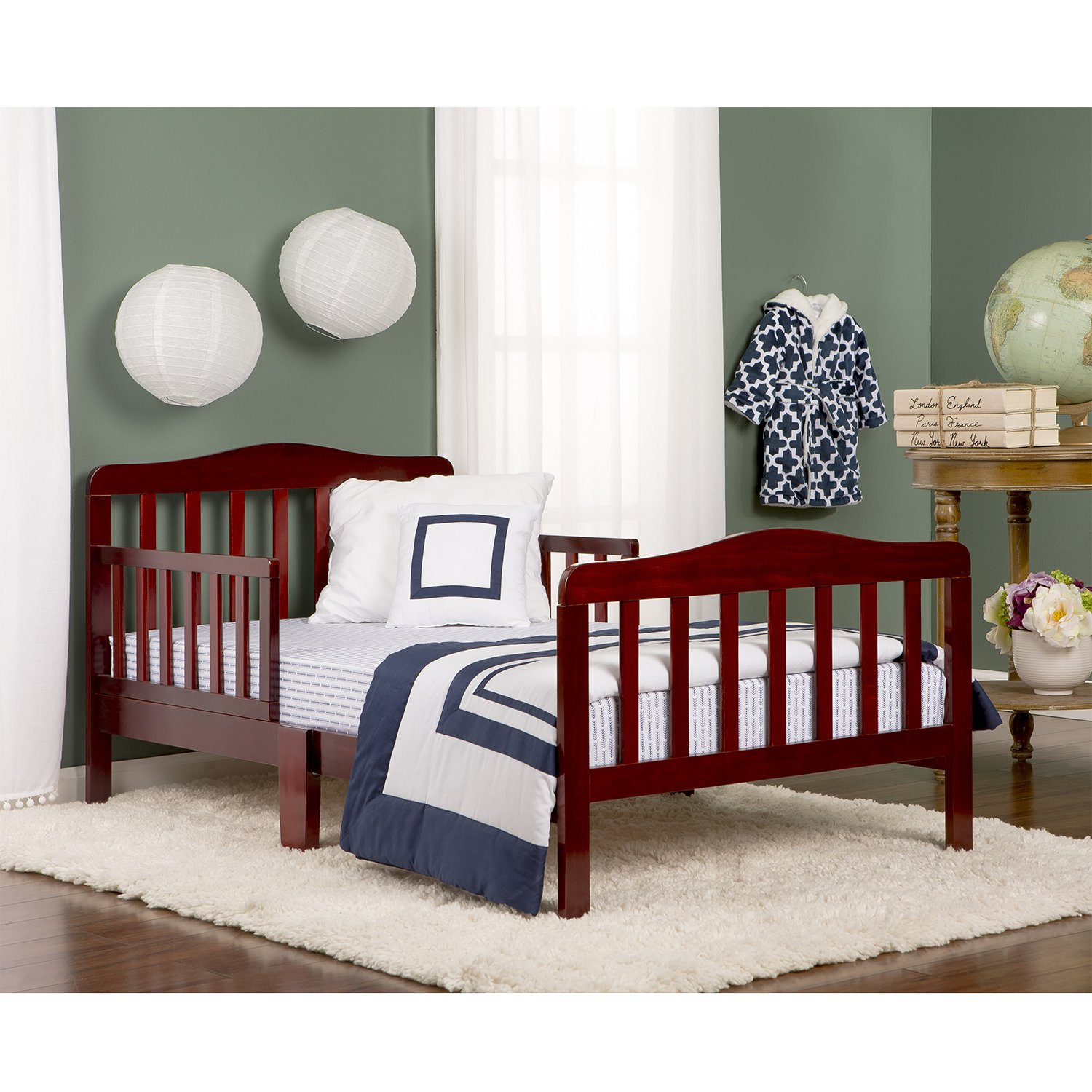 Dream On Me Classic Toddler Bed Cherry Amazonca Baby