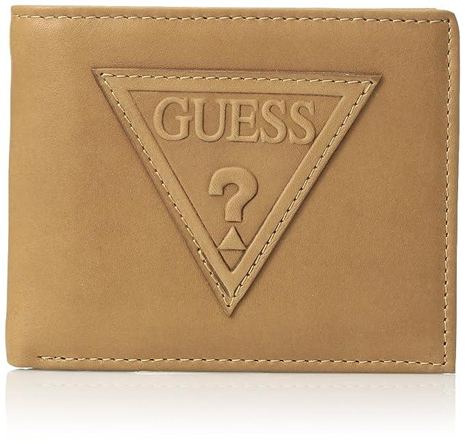 GUESS - Billetera de dos paneles Hombres talla única: Amazon.es: Ropa y accesorios