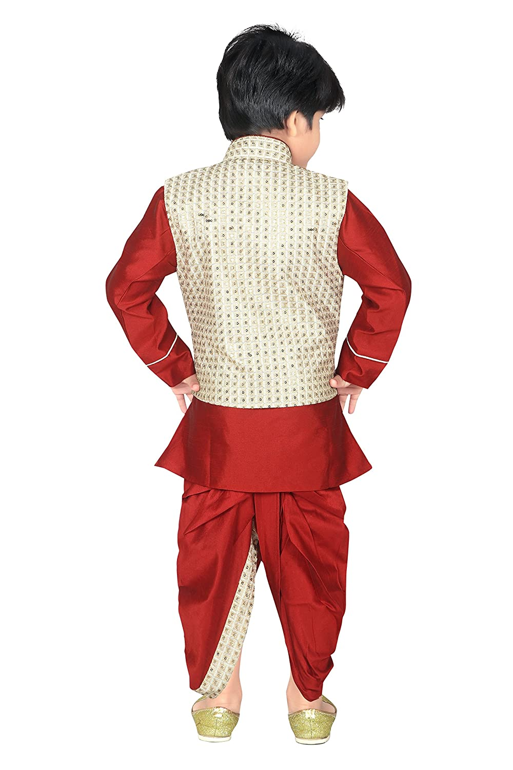 895f41f423 ahhaaaa Kids Indian Ethnic Waistcoat
