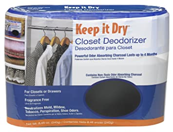 Willert AirBoss Keep It Dry Activated Charcoal Closet Deodorizer   8.46 Oz