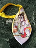 Laddu Gopal Printed Gomukhi Bag for japa mantra puja