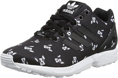 adidas ZX Flux, Baskets Basses Femme, Noir (Core BlackCore