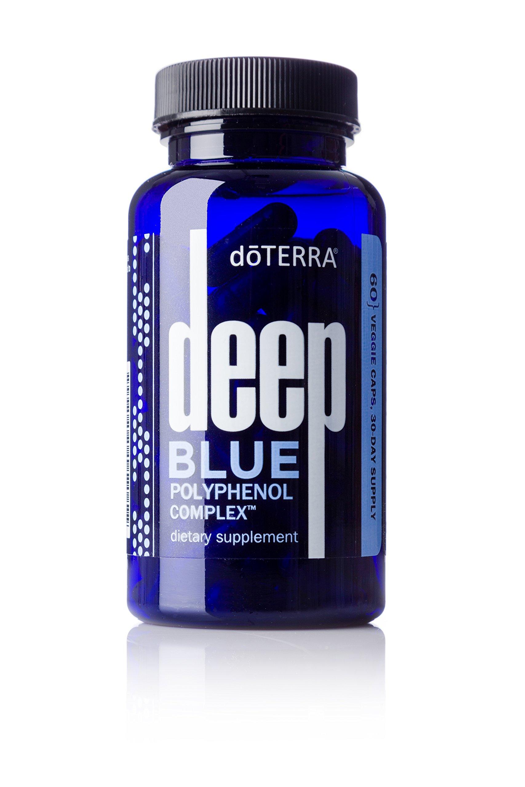 Amazon Com Doterra Deep Blue Polyphenol Complex 60 Vegetarian