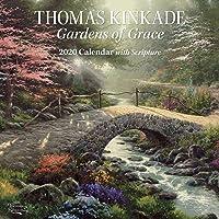 Thomas Kinkade Gardens of Grace 2020 Square Wall Calendar