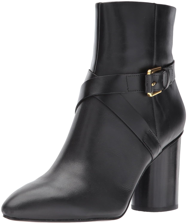 Nine West Women's Cavanagh Ankle Boot B06X8ZSSD3 8.5 B(M) US|Black Leather