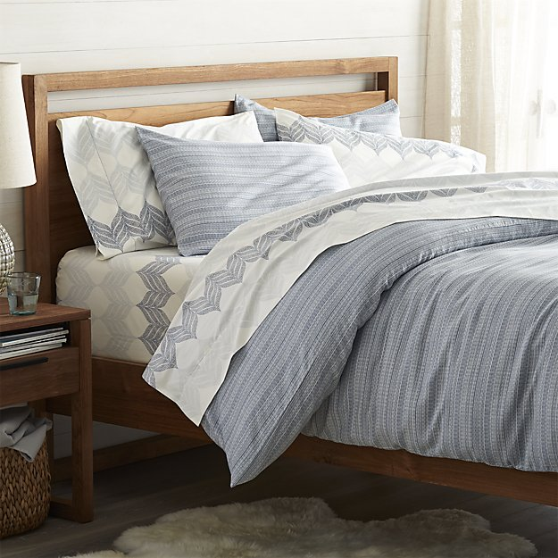 Nasoni Full/Queen Duvet Cover | Crate and Barrel