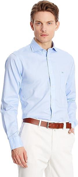Pedro del Hierro Camisa Hombre Azul S: Amazon.es: Ropa y ...