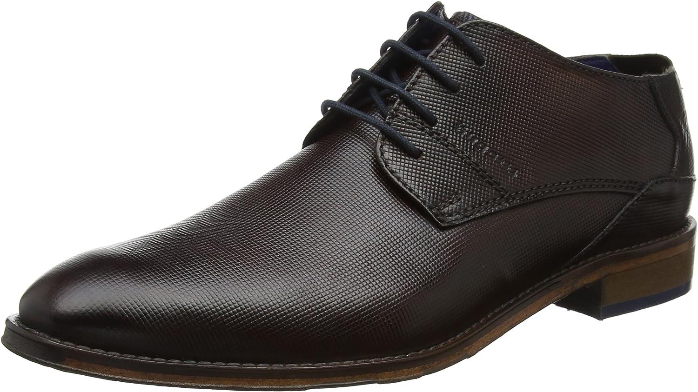 bugatti 312529031100, Zapatos de Cordones Derby para Hombre
