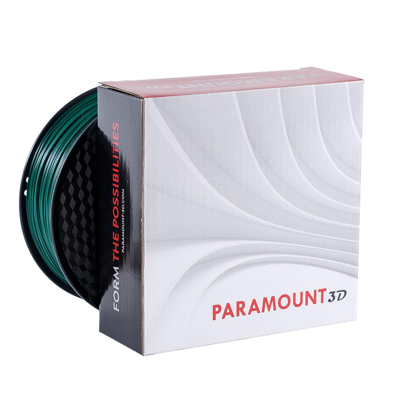 1.75mm 1kg Filament Paramount 3D PLA British Racing Green