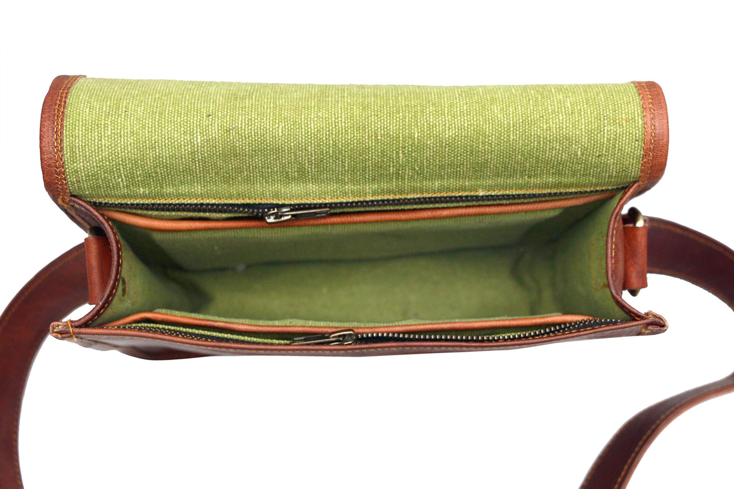 Leather bag Fair Deal / Full flap bag / laptop bag / best computer shoulder briefcase /  Handmade leather bag messenger bag for I pad / brown bag  by Fair Deal (Image #8)