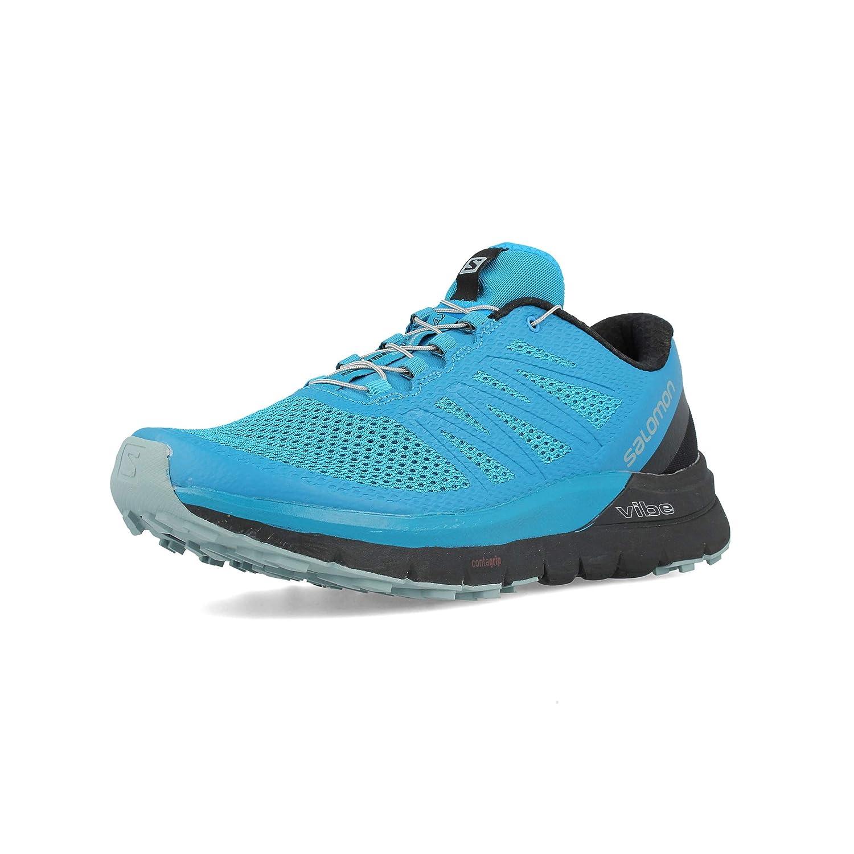 Salomon Mens Sense Pro Max Manmade Mesh Trail Running Ares Maroon Nokha Sneakers Women 36