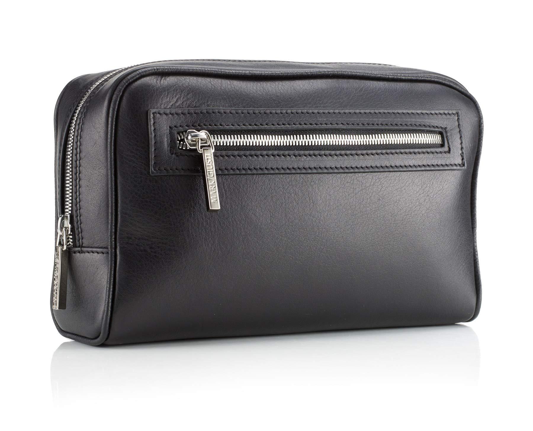 Mark Giusti Canal Nappa Leather Pochette (Black)