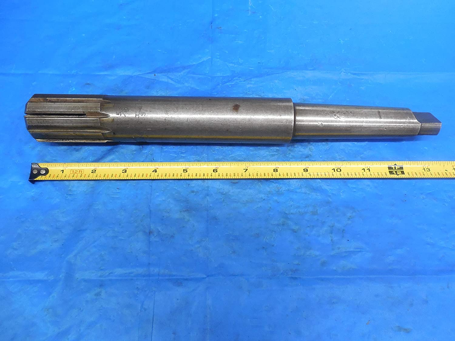 1 5//8 Dia Carbide Flute Expansion Reamer with Morse Taper # 4 Shank 1.6250