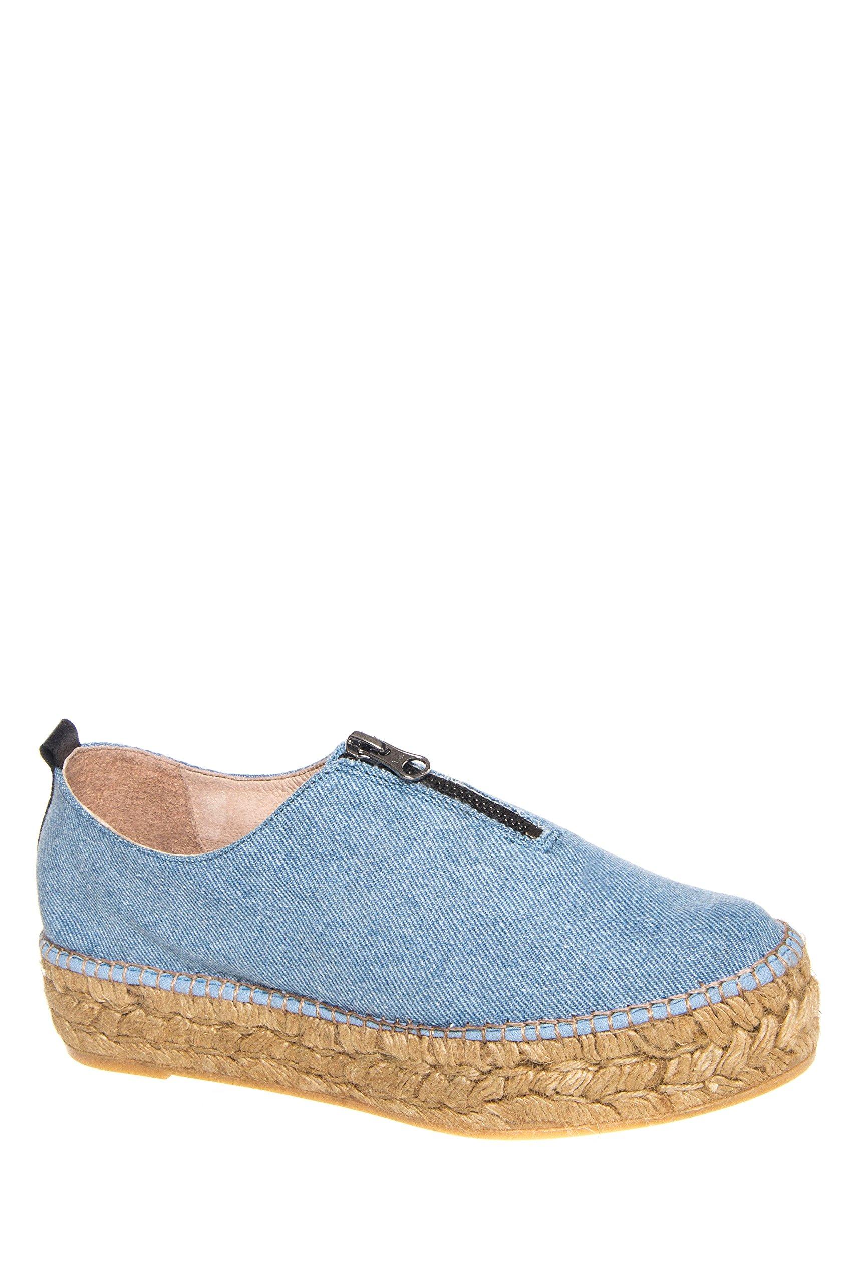 Eric Michael Women's Serena Shoes, Denim, Size - 39