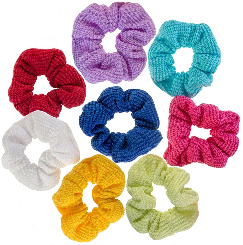8 Hair Scrunchies/Bobbles/Bands/Holders Set VAGA