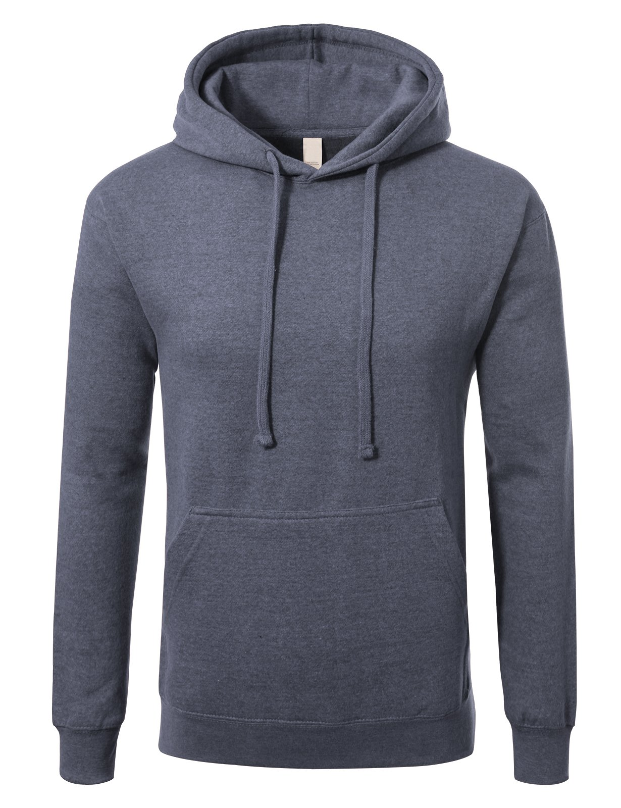 e1b40cd2e Galleon - JD Apparel Men's Premium Heavyweight Pullover Hoodie Sweatshirt M  Heather Navy