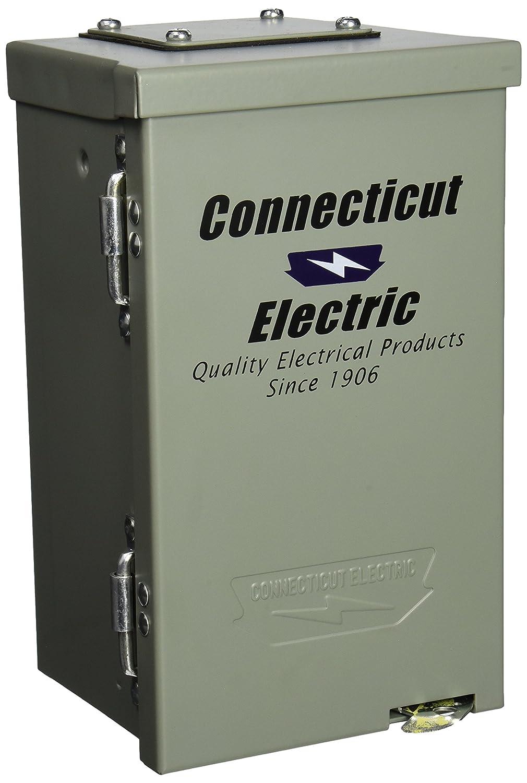 Connecticut Electric Cesmpsc13hr 30 Amps 120 Volt Circuit Protected Amp Breaker Box Rv Power Outlet Receptacles