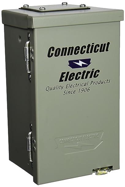 Connecticut Electric CESMPSC13HR 30-Amps/120-Volt Circuit Protected ...