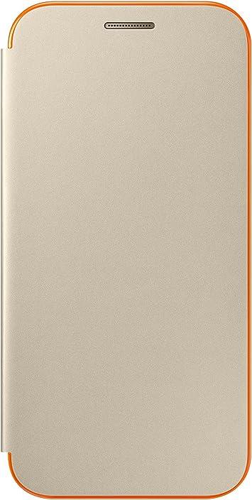 SAMSUNG EF-FA320PFEGWW - Funda para Galaxy A3 2017, Color Dorado- Versión española: Amazon.es: Electrónica