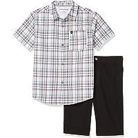 Calvin Klein Toddler Boys' 2 Pieces Shirt Shorts Set
