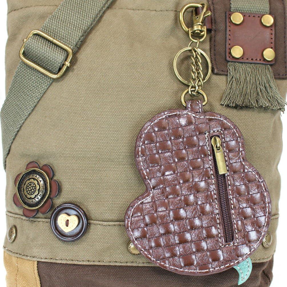 Chala Mermaid Patch Crossbody Bag Olive