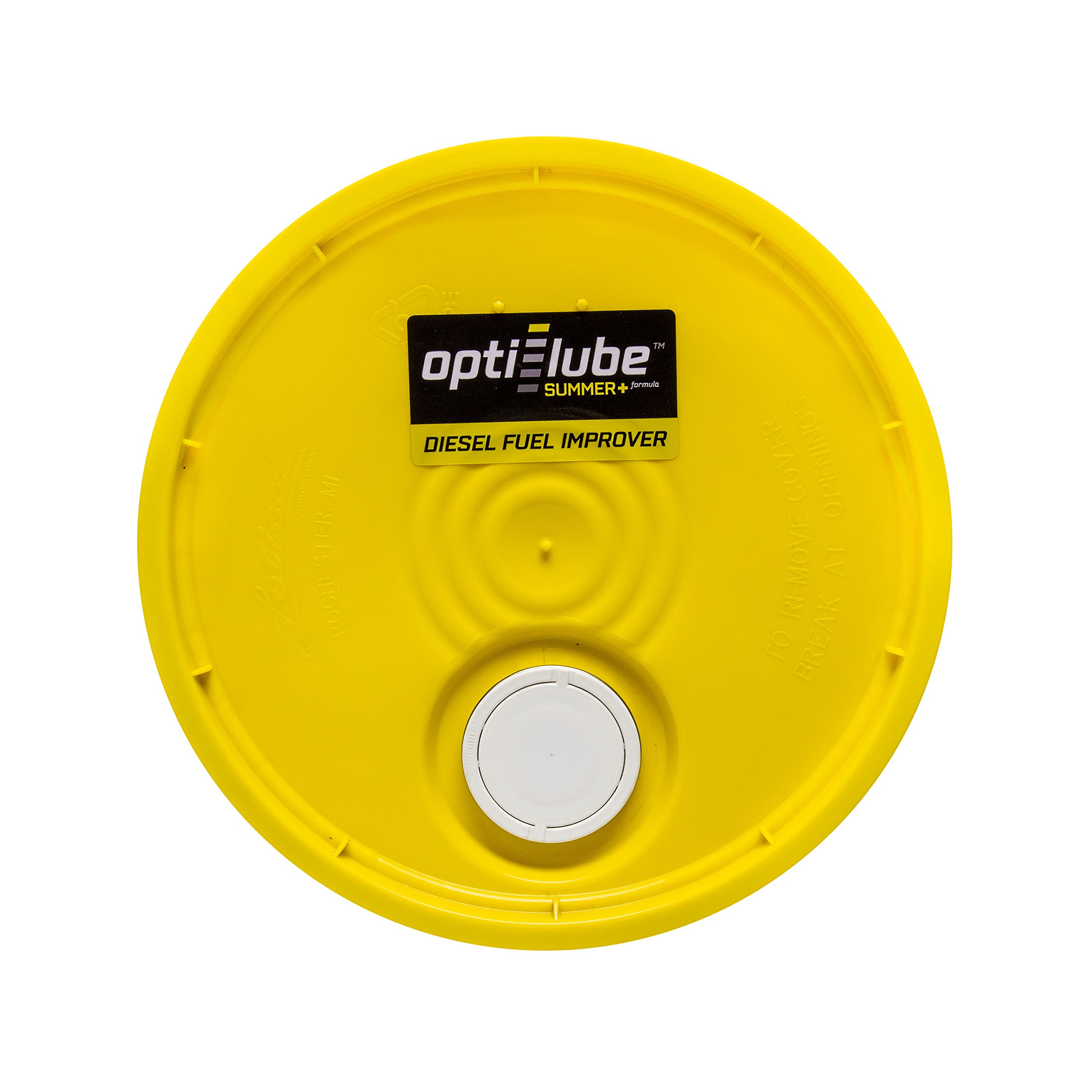 Opti-Lube Summer+ Formula Diesel Fuel Additive: 5 Gallon Pail without Accessories Treats up to 12,800 Gallons