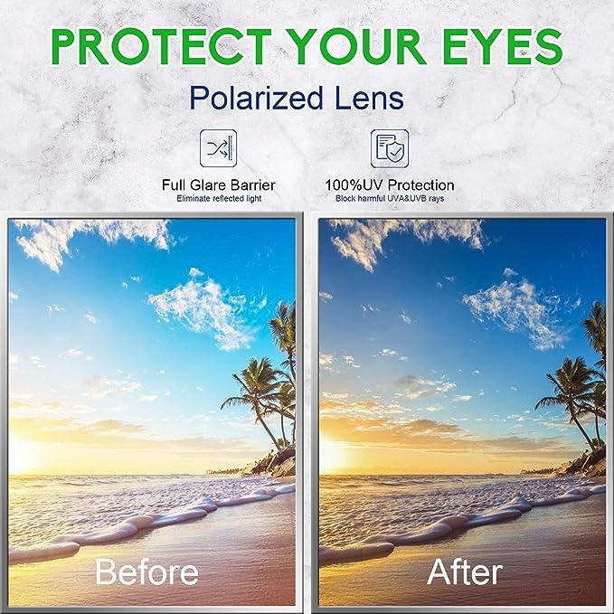Cavir Polarized Sunglasses for Women, UV400 Protection Anti UV Ray, Classic  Vintage Metal Frame Sunglasses: Amazon ...