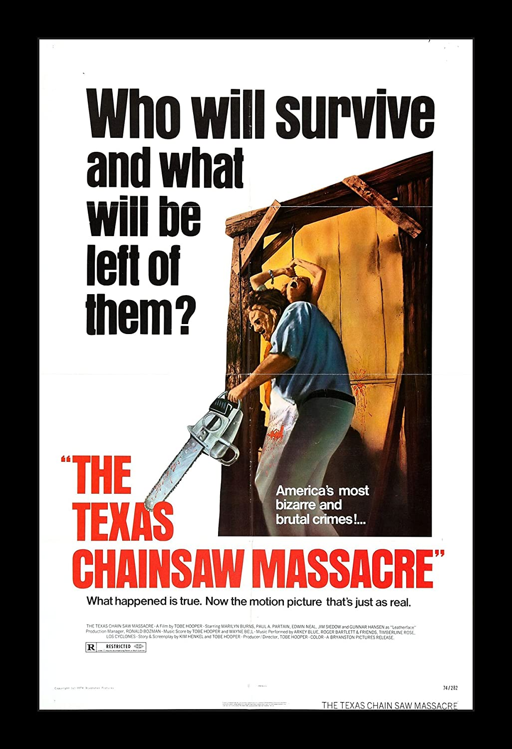 Wallspace The Texas Chainsaw Massacre - 11x17 Framed Movie Poster