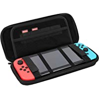 mumbi Universele consoletas ShockProof Carrying Case hoes zwart voor o.a. Nintendo Switch