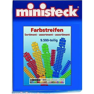 31661 - Conector Mini - barra de colores amplia, de aproximadamente 9.500 piezas, 9.500 piezas [importado de Alemania]: Juguetes y juegos