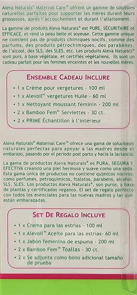 Amazon.com: Aleva Naturals Maternal Care Essentials Kit: Health & Personal Care