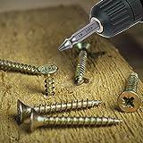 Damaged Screw Extractor Set, FYLINA 5 - Piece Damaged Screw And Bolt Extractor Set, Easily Remove Stripped Or Damaged Screws - Set of 5 Screw Removers