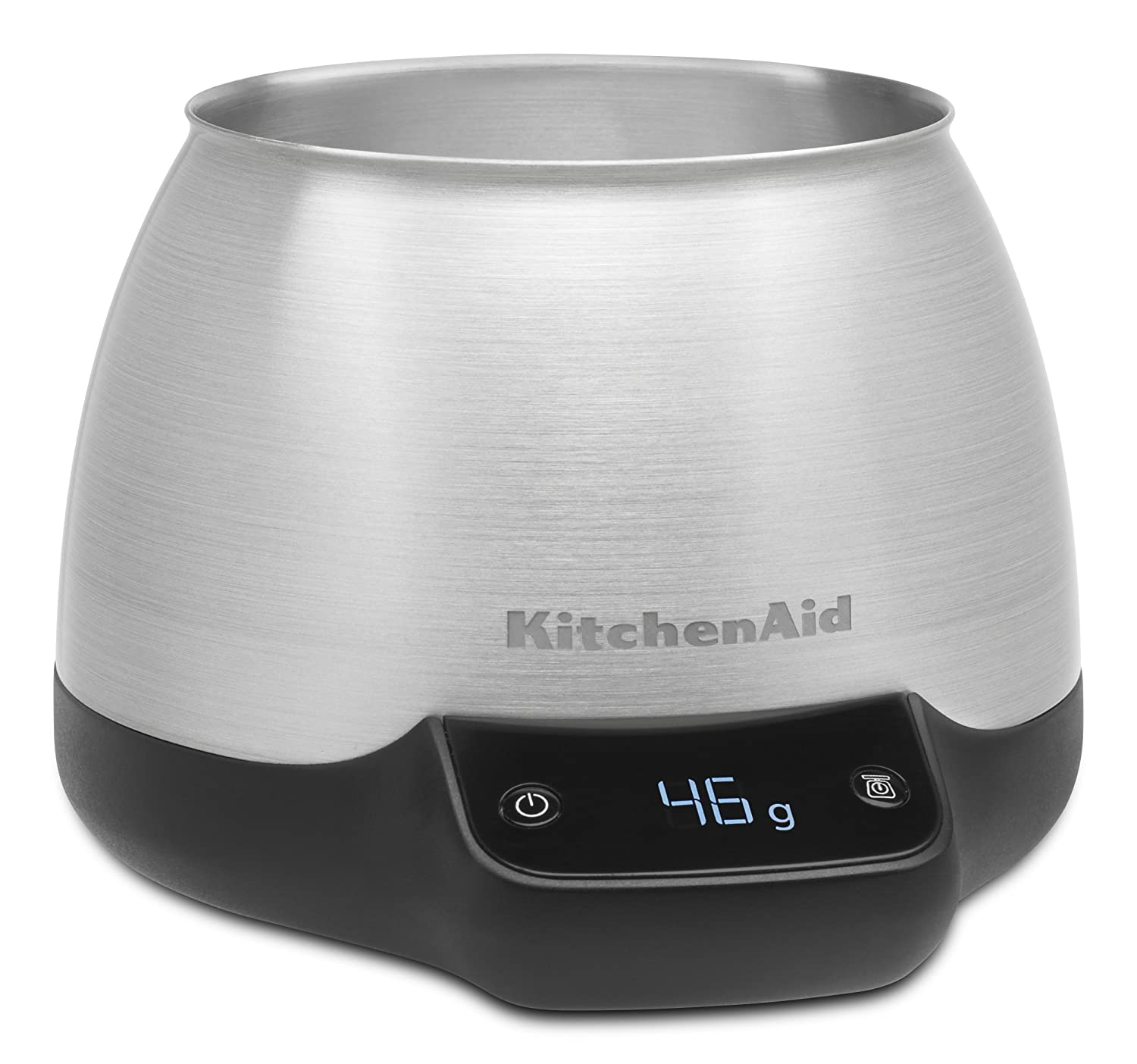 KitchenAid KCG0799SX Digital Scale Jar Burr Grinder Accessory-Brushed Stainless Steel