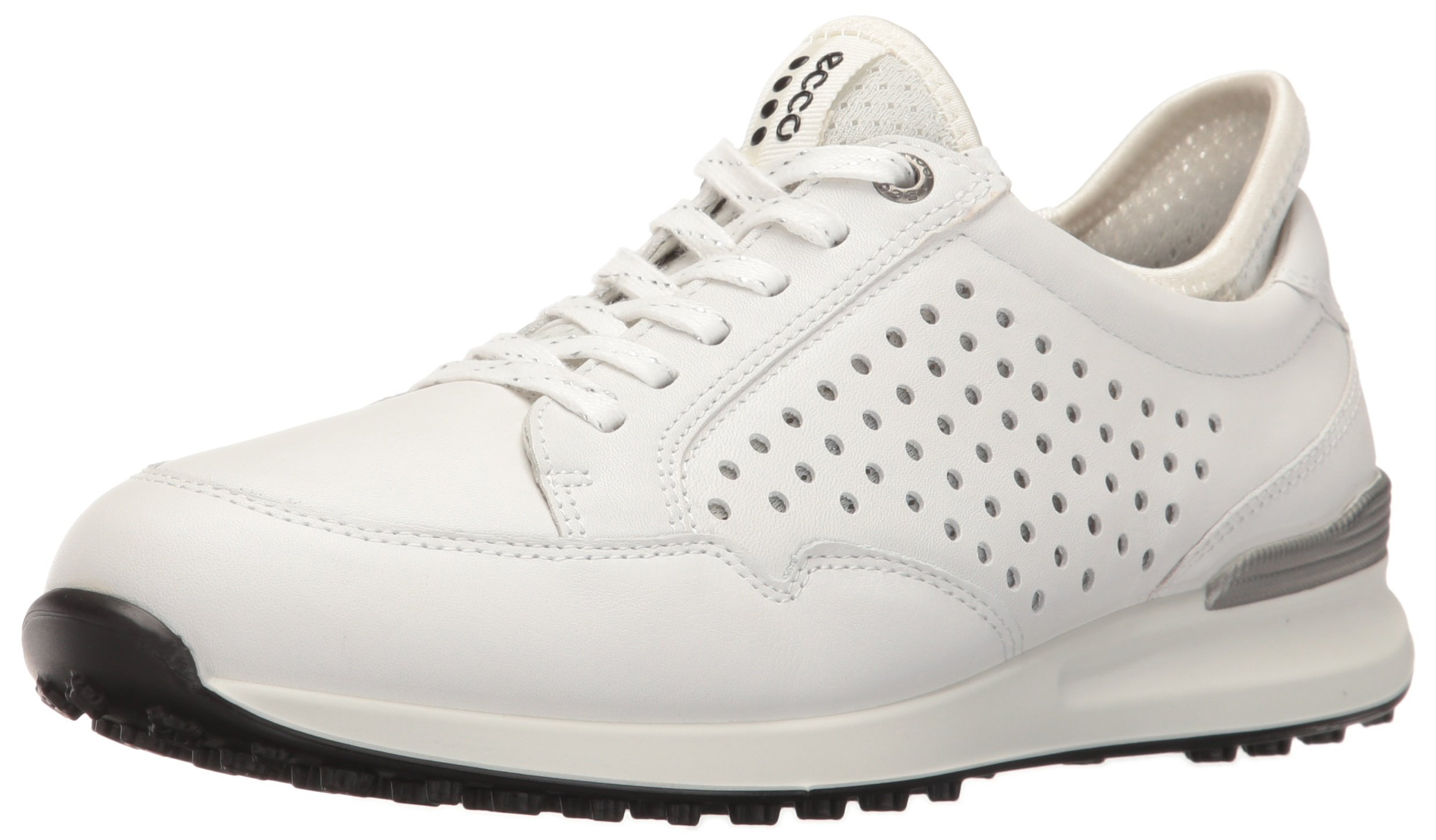 ECCO Women's Speed Hybrid Golf Shoe, White/White, 38 EU/7-7.5 M US by ECCO