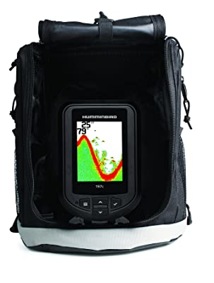 Humminbird PiranhaMax - Humminbird 409680-1 PiranhaMax 197C PT Color, Portable Fish Finder (Grey)