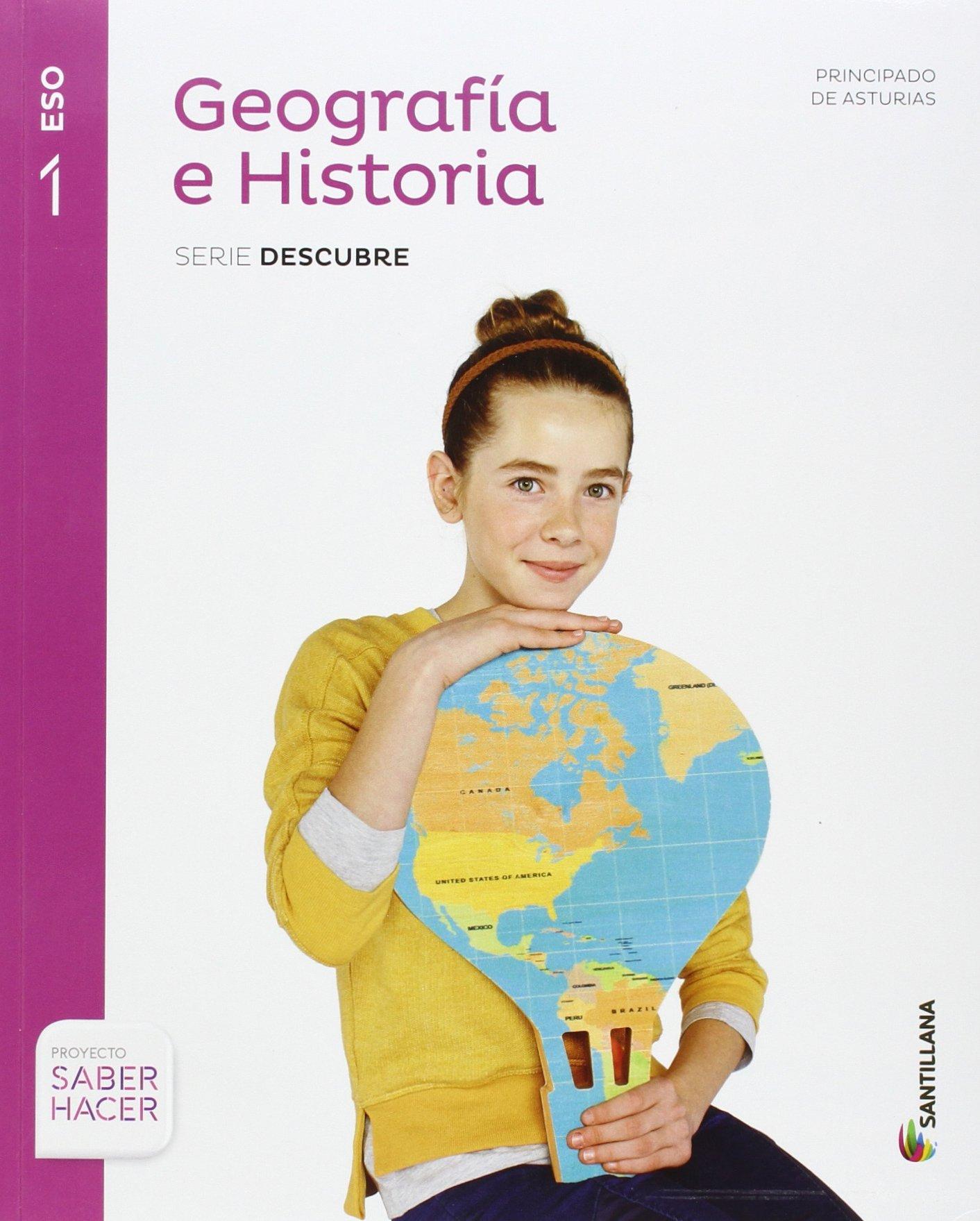 GEOGRAFIA E HISTORIA ASTURIAS SERIE DESCUBRE 1 ESO SABER HACER ...