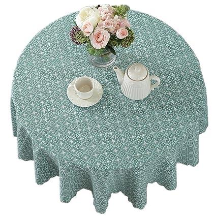Bettery Cotton Linen Tablecloth Blue Checker Dust-Proof/Water-Proof/Oil-  sc 1 st  Amazon.com & Amazon.com: Bettery Cotton Linen Tablecloth Blue Checker Dust-Proof ...