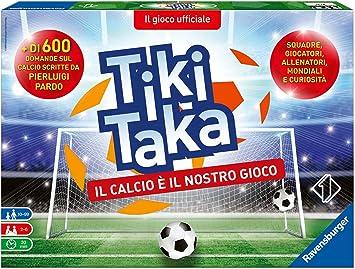 Ravensburger Italia 26791 – Tiki Taka de fútbol Juegos de Mesa: Amazon.es: Juguetes y juegos