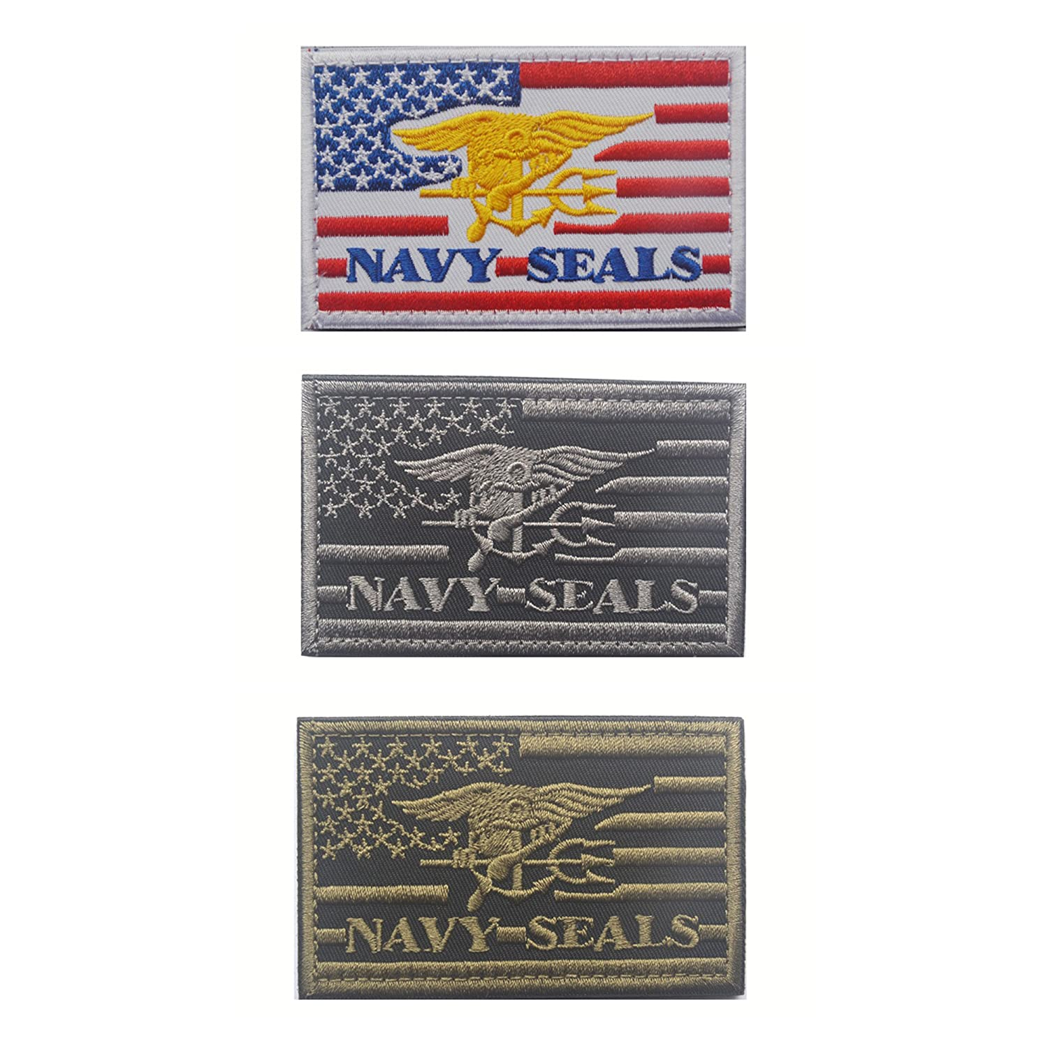 Amazon Navy Seals Patch Velcro Tactical Uniform Military Embroidered Applique Army Green Arts Crafts Sewing