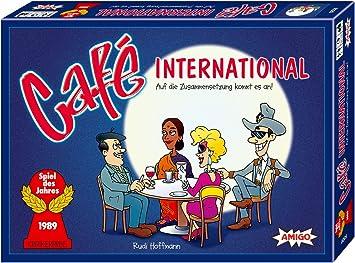 Amigo Spiele 09320 Café International - Juego de Mesa [Importado de Alemania]: Amazon.es: Juguetes y juegos