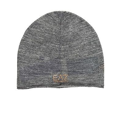 df97f4f52 Emporio Armani EA7 women's beanie hat train strass grey UK size S ...