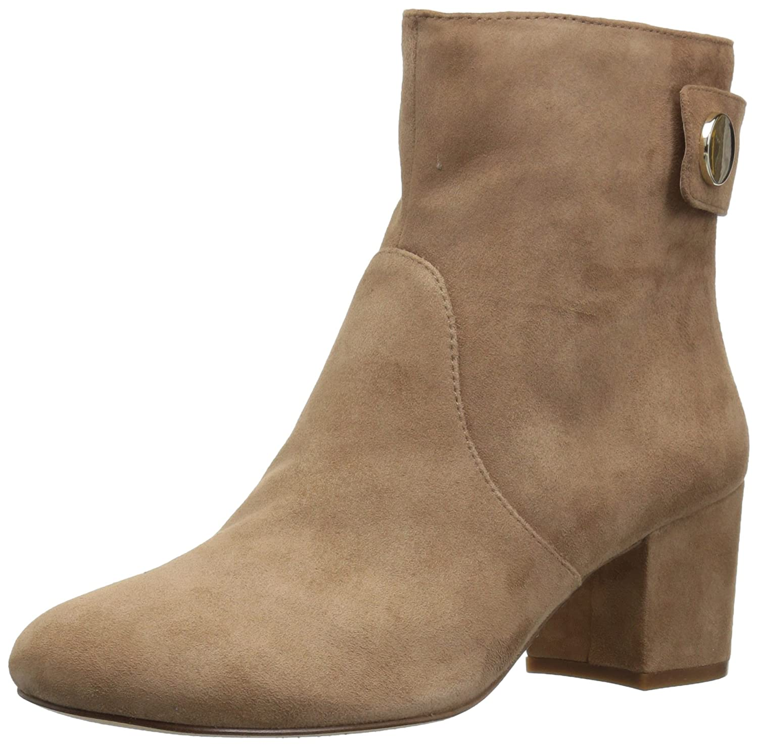 Nine West Women's Quarryn Suede Ankle Boot B01MSUQKDU 9.5 B(M) US|Natural