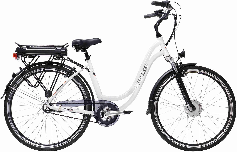 Karcher 280385 - Bicicleta eléctrica, Talla L (175-185 cm), Color ...