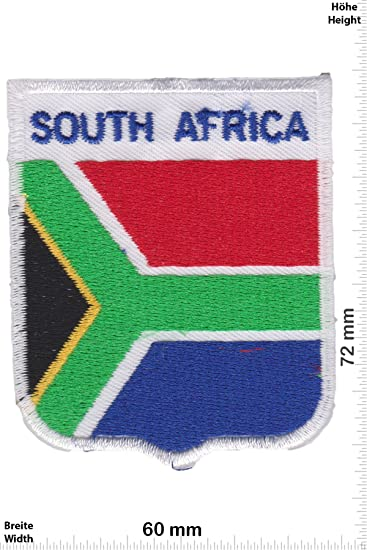 Iron on South Africa Patch