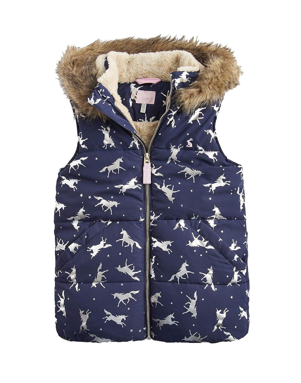 Joules Rhea Faux Fur Lined Unicorn Gilet-ZODRRHEA