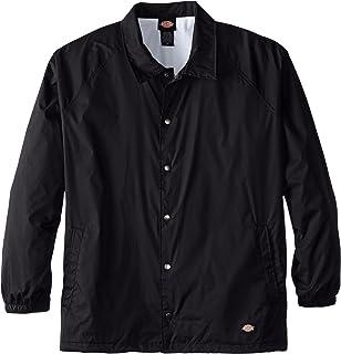 3c29aebffc3 Dickies Men s Big   Tall Snap Front Nylon Jacket