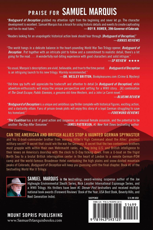 Amazon.com: Bodyguard of Deception (World War Two Trilogy) (Volume ...